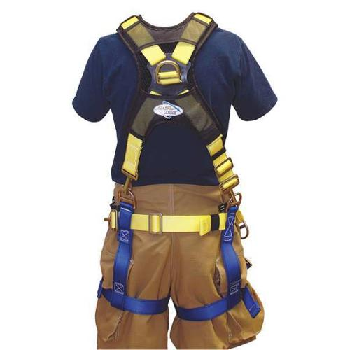 GEMTOR 543XCH3-4M Rescue Harness, Class lll, 44in to 56in