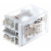 DAYTON 1A486 Plug In Relay,8 Pins,Square,12VDC