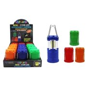 Diamond Visions 08-1910 3 COB LED Mini Extendable Metal Lantern in Assorted Crazy Colors (1 Lantern)