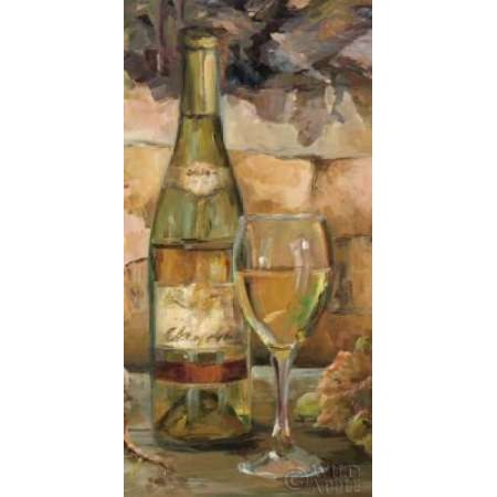 Image of Le Cour de le Chateau II Canvas Art - Marilyn Hageman (24 x 48)