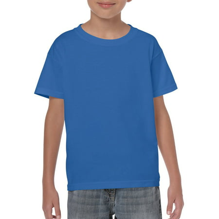 747a8928 Gildan - Kids Short Sleeve T-Shirt - Walmart.com