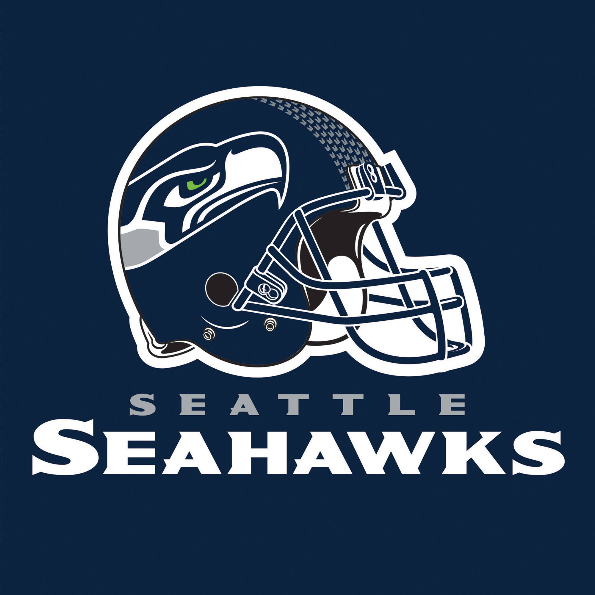 Seattle Seahawks Napkins, 16-Pack