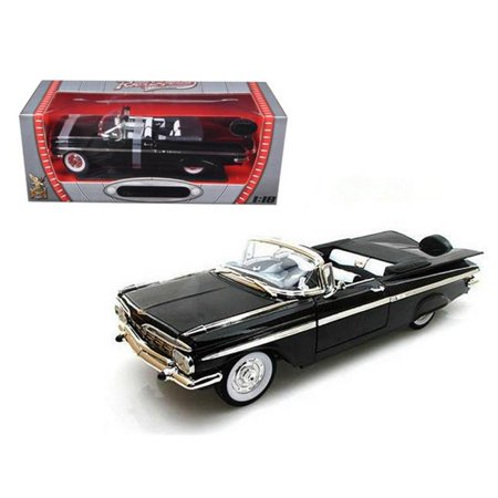 1959 Chevrolet Impala Black Limited Edition to 600pc 1/18 Diecast Model by Road Signature