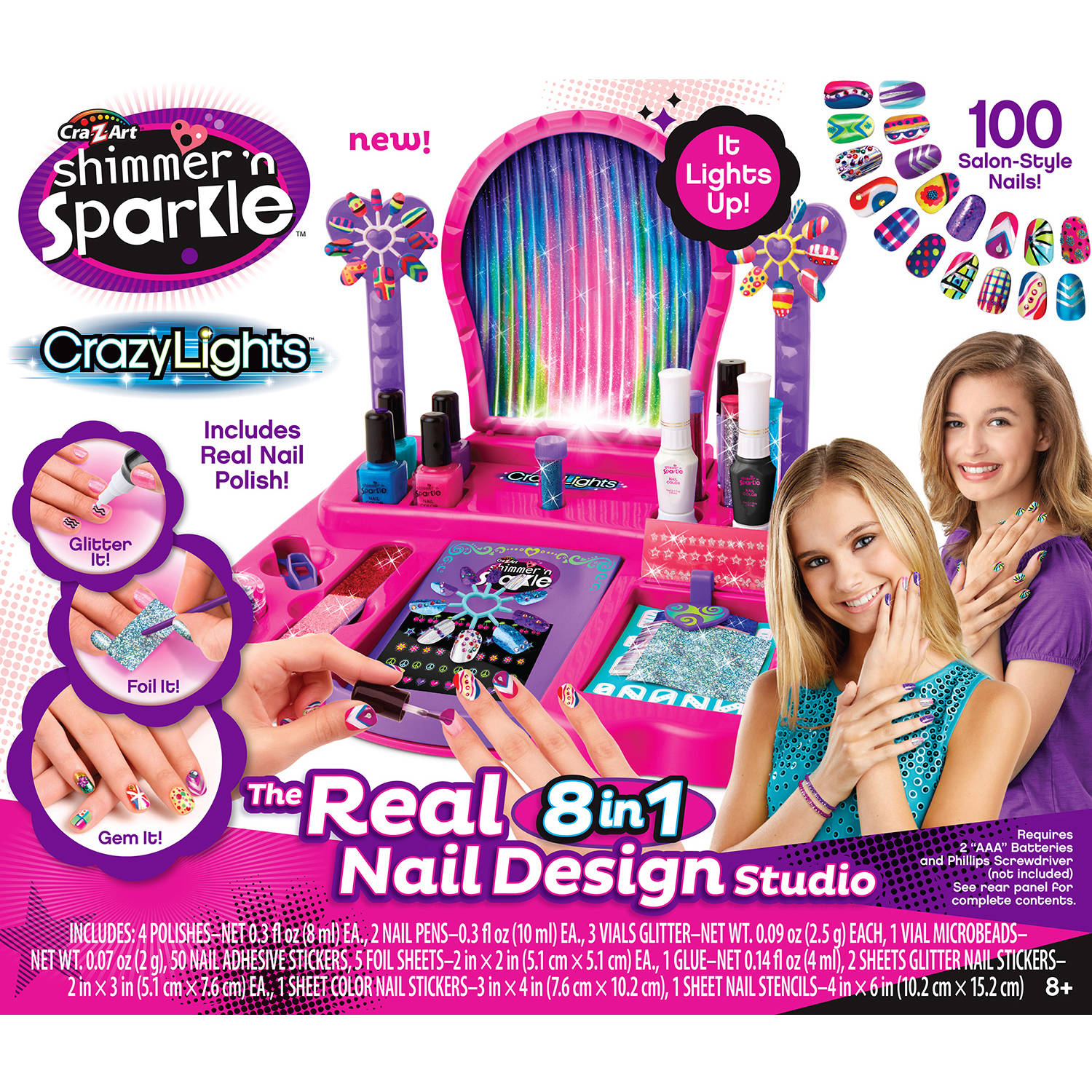Cra-Z-Art Light-Up Super Nail Salon