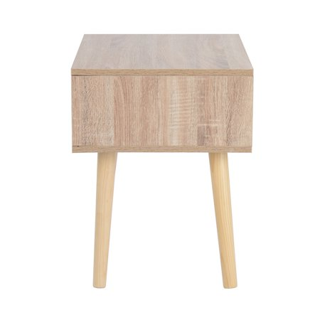 Furniture R End Table/Nightstand/Sofa Table with Storage Drawer - image 4 of 6