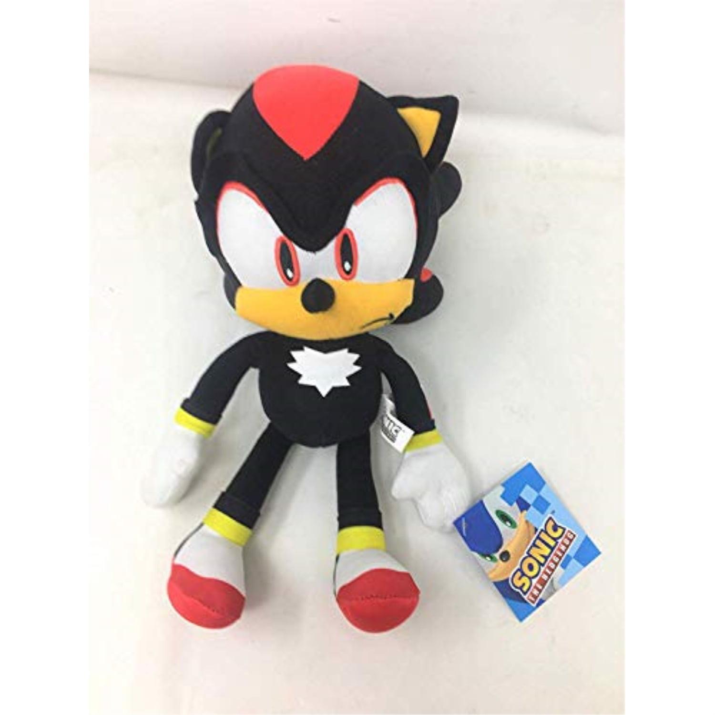 Sonic The Hedgehog Shadow 11 5 Tall Plush Soft Toys Walmart Com Walmart Com