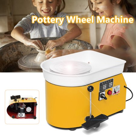 Professional Pottery Wheel (Electric Pottery Wheel 25cm Pottery Forming Machine 250W Pottery Wheel DIY Clay Tool Ceramic Work)