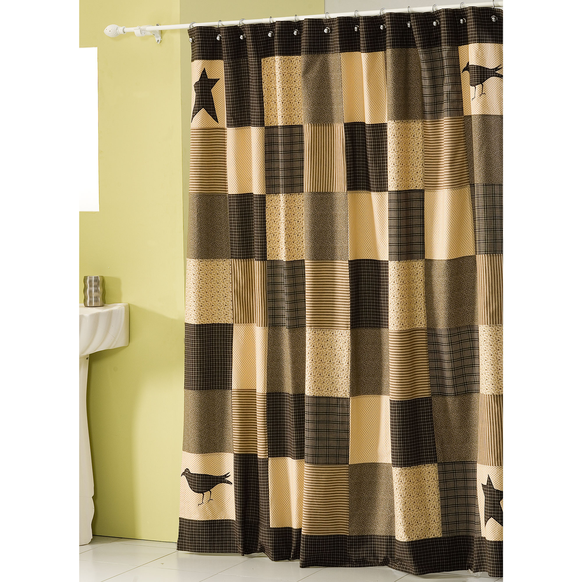 Black and tan shower curtains - Black And Tan Shower Curtains 47