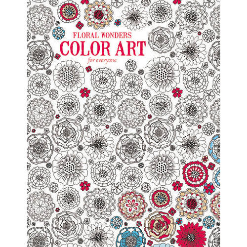 Floral Wonders Color Art for Everyone