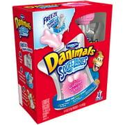 Danimals Squeezables Cotton Candy Lowfat Yogurt, 4 oz, 4 ct