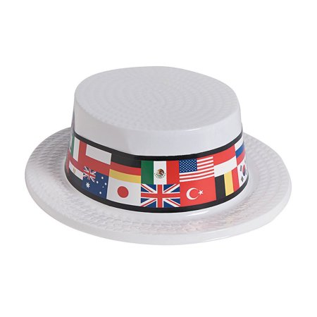 Flags Of All Nations (Flags of All Nations Skimmer Hats Per)