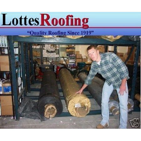 Roof Roofing (7' x 20' BLACK 45 MIL EPDM RUBBER  ROOF ROOFING BY LOTTES COMPANIES )