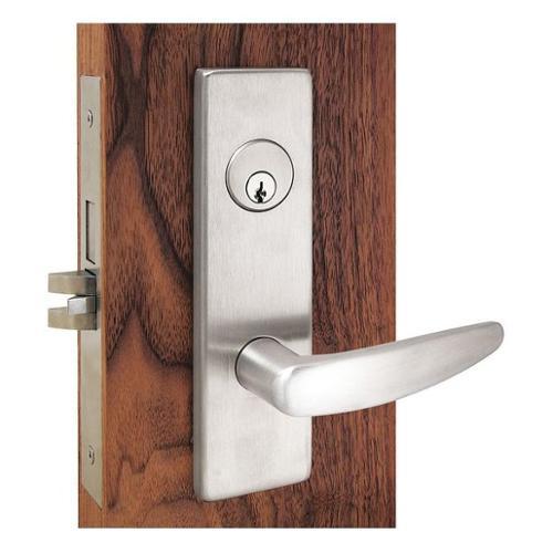 TOWNSTEEL MSE-14-G-605 Mortise Lockset, Bright Brass, Store Door