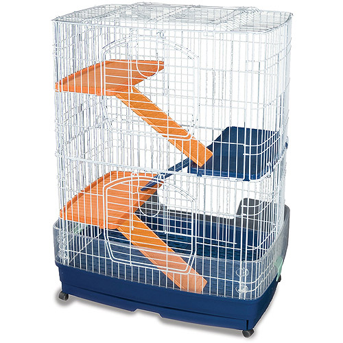 Prevue Pet Products Four-Story Animal Cage on Casters