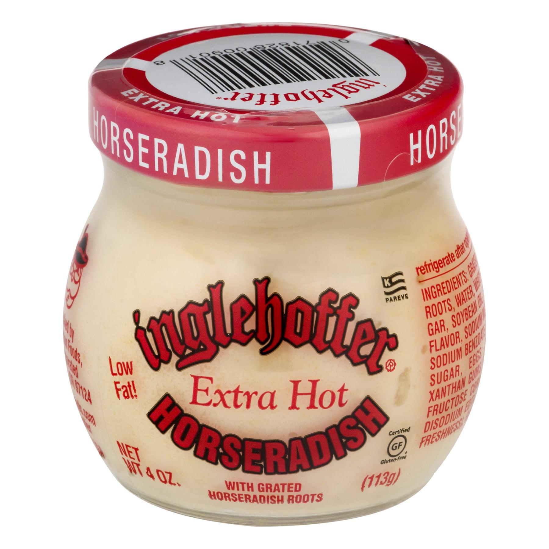 Inglehoffer Horseradish, Extra Hot, 4 Oz Jar