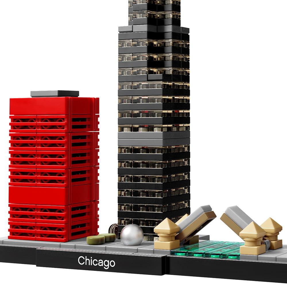 LEGO Architecture Chicago 21033 - Walmart.com