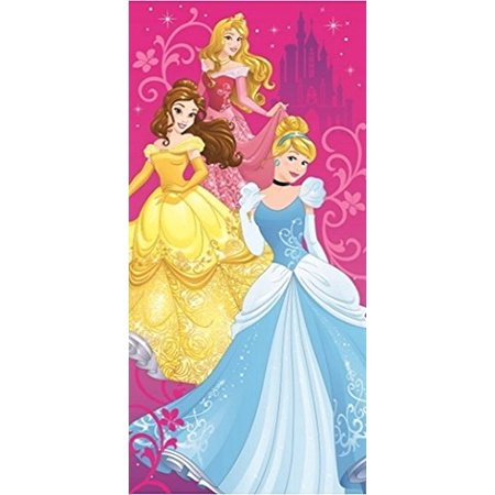 - Towel - Disney - Princess - Pink Bath/Beach New 007675