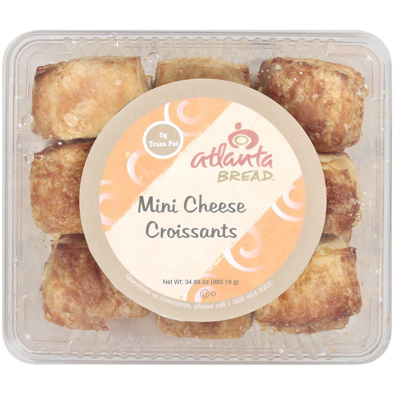 Atlanta Bread Company Mini Cheese Croissants 27 ct. by BAKE ONE INC