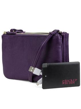 18a77c5725cd Purple Women's Bags - Walmart.com