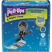 Pull-Ups Training Pants Night Time for Boys, Jumbo Pack, (Choose Your Size)