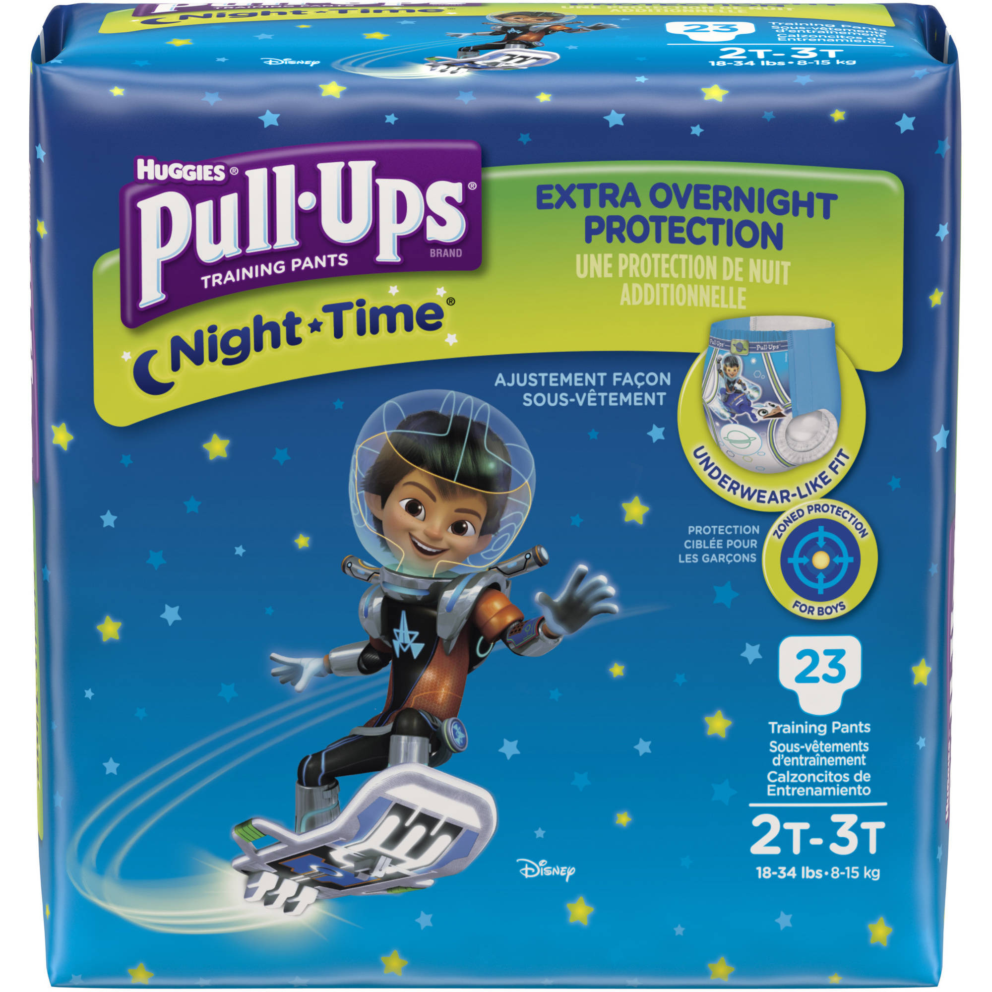 HUGGIES Pull-Ups Night-Time Training Pants for Boys, (Choose Your Size)