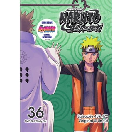 Naruto Shippuden Box Set 36 (DVD) - Halloween Movie Series Box Set