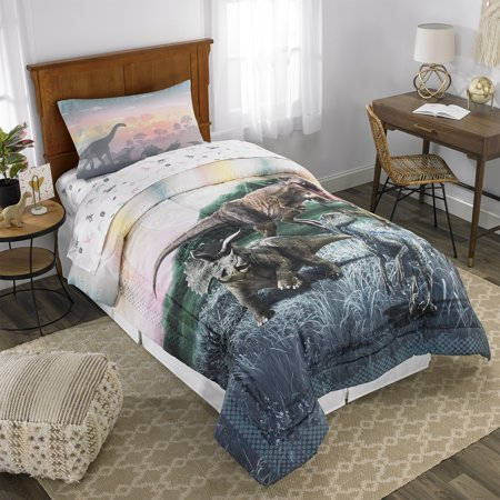 Jurassic World Bed in a Bag, Kids Bedding Set, Sunset