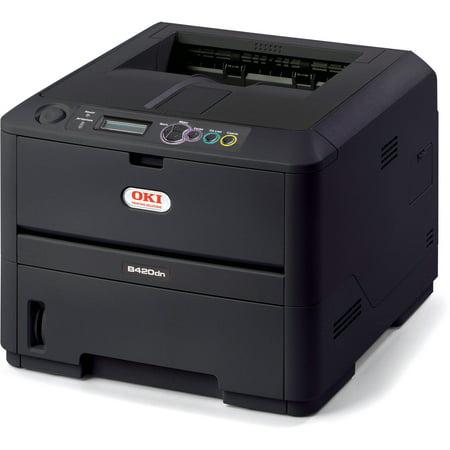 Okidata B420DN Digital Laser Printer 30PPM 2400DPI Black