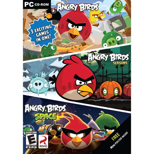 Angry Birds 3 Pack