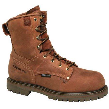 Wrk Boots, Men, 12, EEE, Lea. Midso., 8inH, PR CAROLINA SHOE - CA9528 (Carolina Pr)