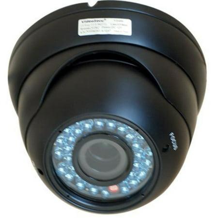 Vandal Proof Infrared 36 Led - VideoSecu Dome Outdoor CCD Vandal Proof Security Camera Day Night Vision 420TVL 36 IR Infrared Leds 4-9mm Zoom Focus Varifocal for Home CCTV DVR Surveillance System 1Z6