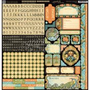 """Artisan Style Cardstock Stickers 12""""X12""""- , Pk 3, Graphic 45"""