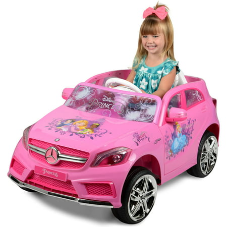 Disney Mercedes 6-Volt Battery Powered Ride-On - Perfect for your little