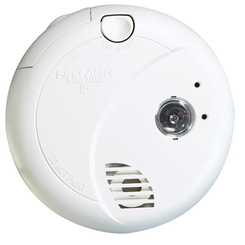 First Alert Hard-Wired Photoelectric Smoke Alarm