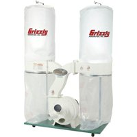 Grizzly Industrial G1030Z2P 3 HP Dust Collector with Aluminum Impeller - Polar Bear Series