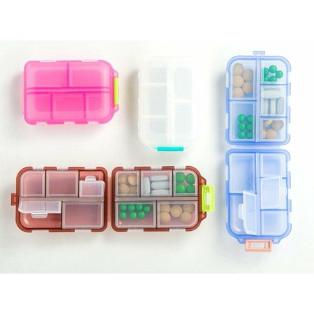 New Medicine Drug Pill Box Storage Case Container Weekly Sort Folding (All Sorts Of Sorts By Sheron Brown)