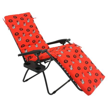 College Covers NCAA Georgia Outdoor Chaise Lounge Cushion