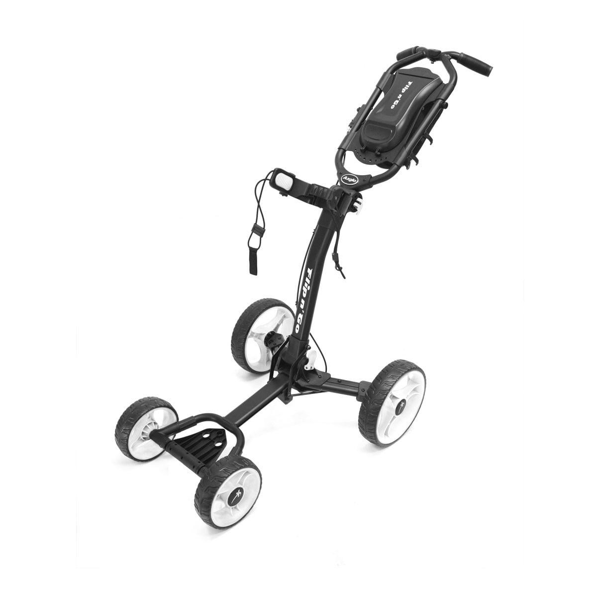 Axglo Flip N' Go 4 Wheel Cart Black/White