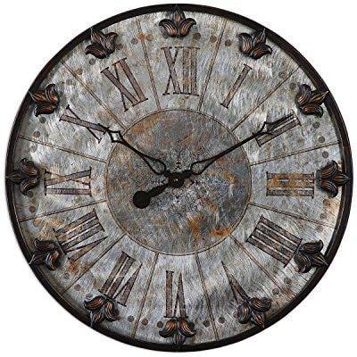 uttermost 6643 artemis antique wall clock (Artemis Antique Bronze)