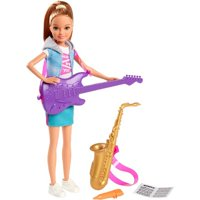 Barbie Team Stacie Doll Music Playset with Instruments