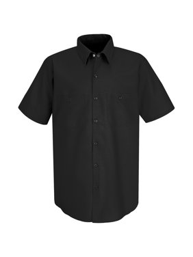 Red Kap Men's Short Sleeve Industrial Work Shirt
