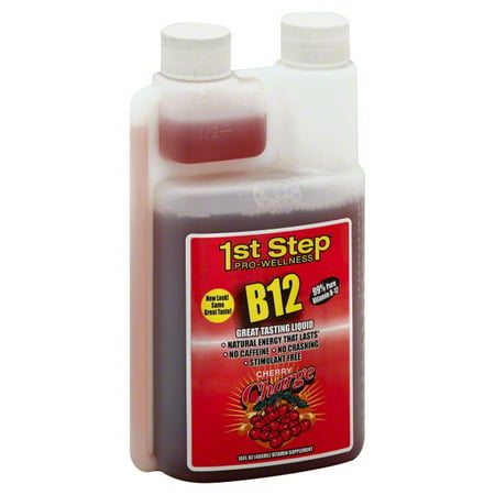 Energy Cherry - 1st Step for Energy B12 Boost, Cherry Charge, 16 Fl oz