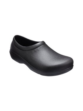 Crocs Unisex On The Clock Work Slip On Shoe