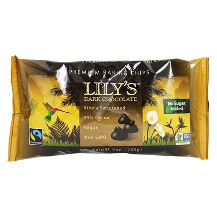Dark Chocolate Premium Baking Chips 55% Cocoa - 9