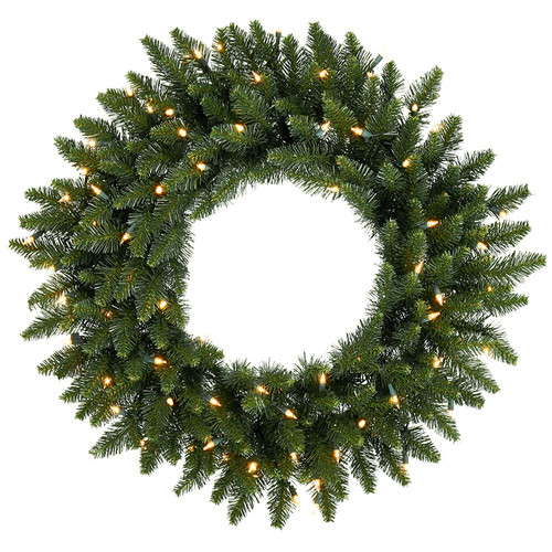 Northlight Seasonal Pre-Lit Eastern Pine Artificial Christmas Wreath