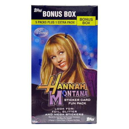 Hannah Montana Sticker Card (Disney Hannah Montana Sticker Card Bonus Box)