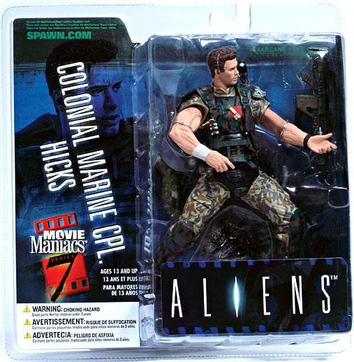 McFarlane Alien Movie Maniacs Series 7 Colonial Marine CPL. Hicks Action Figure