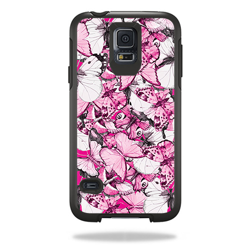 MightySkins Skin For OtterBox Symmetry Samsung Galaxy S5 Case – Billfish Stripes   Protective, Durable, and Unique Vinyl Decal wrap cover   Easy To Apply, Remove, and Change Styles   Made in the USA