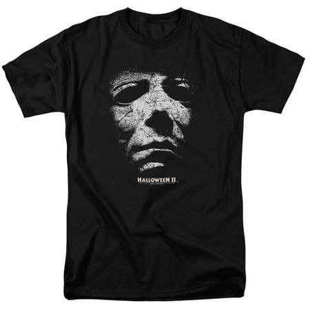 Halloween Ii - Mask - Short Sleeve Shirt - XXX-Large - Halloween Witch Masks To Print