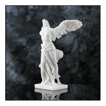 9 Inch Winged Victory Venus Greek Goddess Resin Statue - Venus Greek